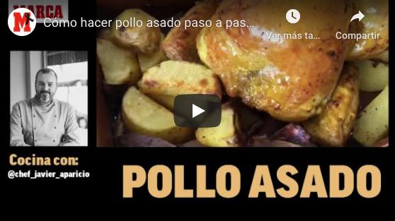Cómo hacer pollo asado paso a paso - Recetas fáciles para el confinamiento (MARCA)