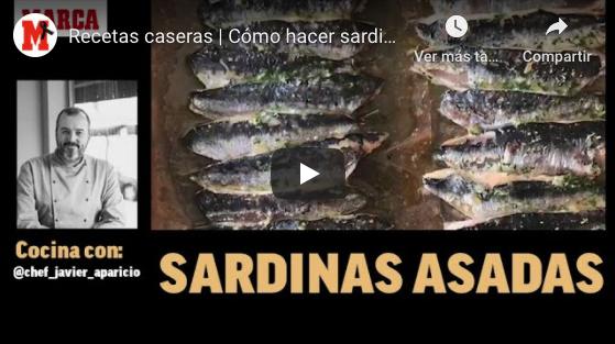 Cómo hacer sardinas asadas paso a paso - Recetas fáciles para el confinamiento (MARCA)