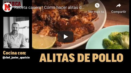 Cómo hacer alitas de pollo paso a paso – Recetas fáciles para el confinamiento (MARCA)